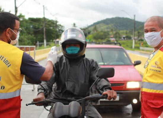 Vandalismo nas barreiras sanitárias preocupam secretários de saúde no Sul da Bahia