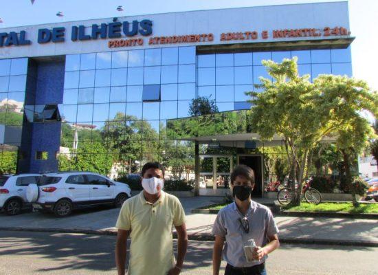 Vereadores visitam unidades hospitalares em Ilhéus