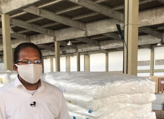 Augusto Castro consegue mais respiradores para Itabuna