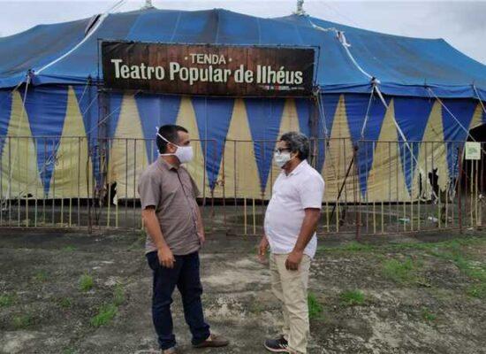 Prefeitura intervém e Tenda Teatro Popular de Ilhéus é mantida