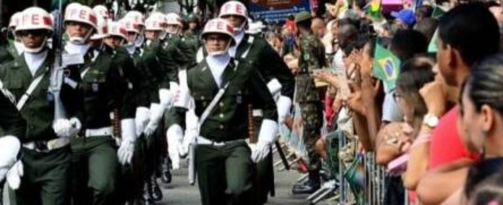 7 de setembro não terá desfile cívico