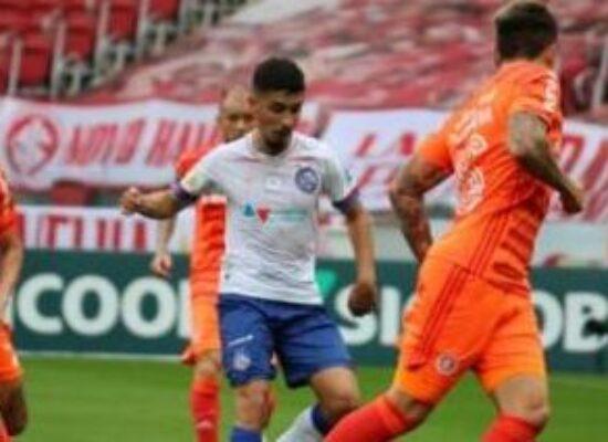 Bahia arranca empate nos acréscimos contra o Inter