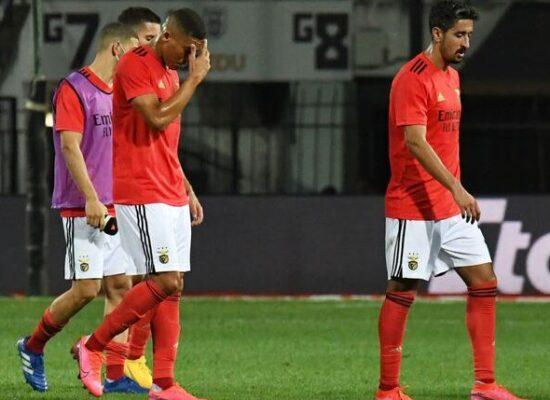 Benfica de Jorge Jesus é eliminado da Liga dos Campeões