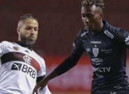 Flamengo tomou um sapeca iaiá do Del Valle. 5 x 0
