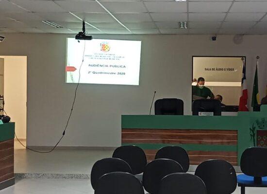 Prefeitura de Ilhéus apresenta prestação de contas na Câmara Municipal