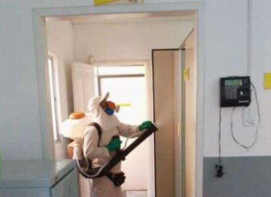 Prefeitura realiza desinfecção de unidades de saúde e mutirão de limpeza em bairros de Ilhéus