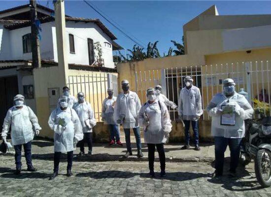Sesau divulga programação de busca ativa de sintomáticos respiratórios nos bairros de Ilhéus