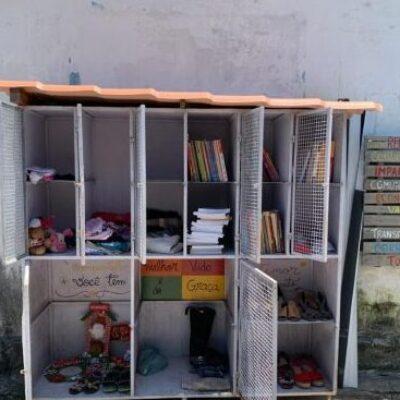 Armário coletivo de Ilhéus completa 01 ano de existência