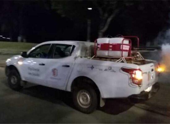 Carro fumacê reforça ações de combate à dengue em Ilhéus; confira localidades