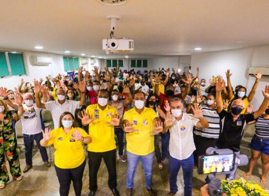 Clima festivo marca lançamento da campanha de Escuta ao legislativo