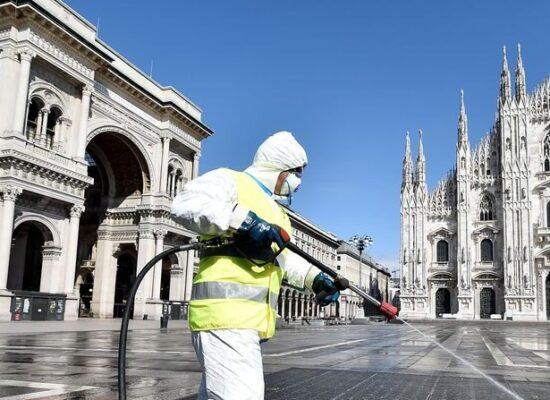 Itália tem recorde de casos de covid-19