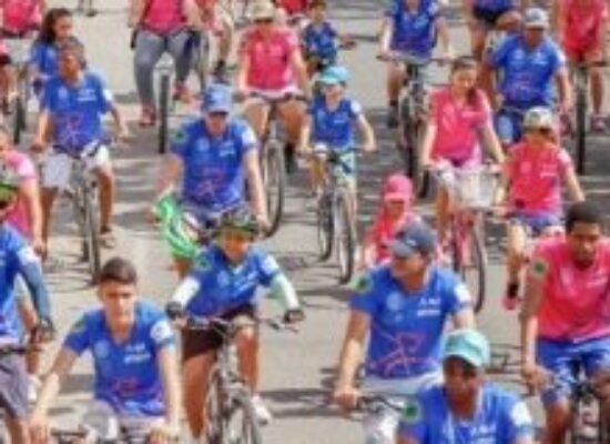 OUTUBRO ROSA: 5º Grupamento de Bombeiros Militar realiza Passeio Ciclístico em Ilhéus