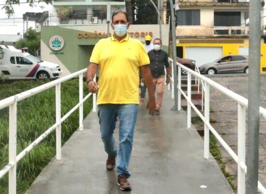 Prefeito Mário Alexandre visita UPA da Conquista; unidade completa dois anos com 28 mil atendimentos