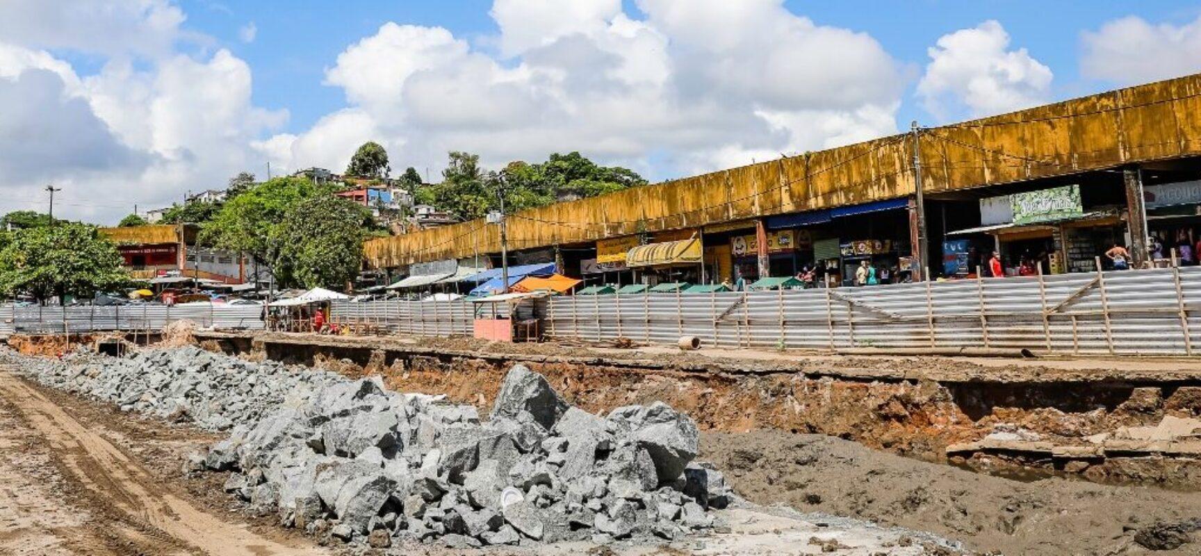 Prefeitura de Ilhéus inicia etapa de concretagem no Canal do Malhado