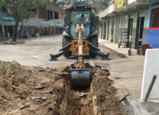 Prefeitura de Ilhéus inicia obras de drenagem na Central de Abastecimento do Malhado