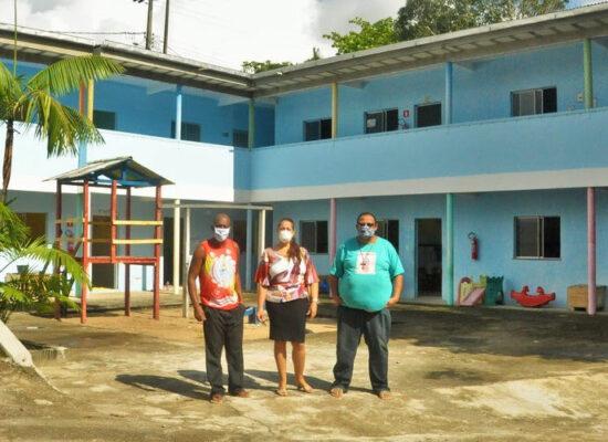Projeto Novo Céu: Construção de novas salas e reforma da escolinha são finalizadas pela HNB