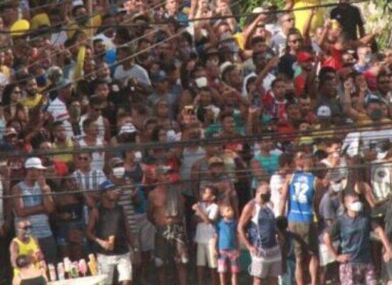 FUTEBOL BAHIANO: Colo Colo empata com o Unirb. Torcida dá um show à parte!