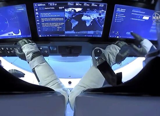 Parceria levará astronautas à estação espacial no próximo sábado