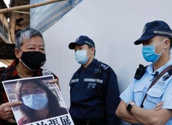 China condena jornalista a 4 anos de prisão por relatar vírus em Wuhan