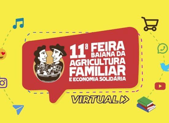 Feira Baiana da Agricultura Familiar e Economia Solidária virtual começa neste sábado