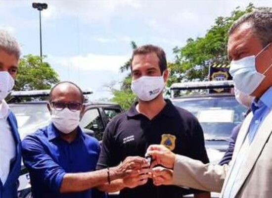 Ilhéus recebe reforço na segurança pública com entrega de viatura para a Polícia Civil