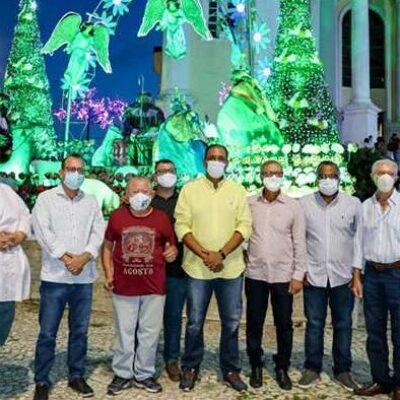 Prefeito Mário Alexandre realiza abertura oficial do Natal Encantado