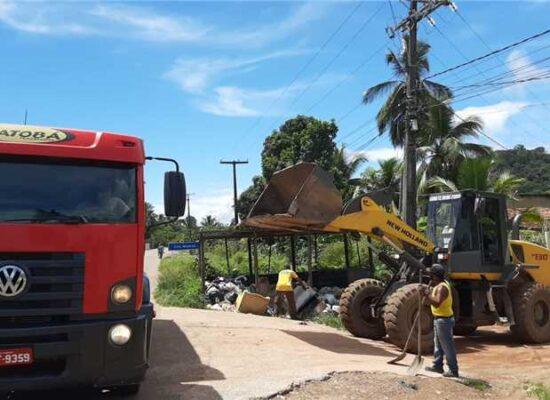 Prefeitura inicia pela zona norte mutirão de limpeza para o verão