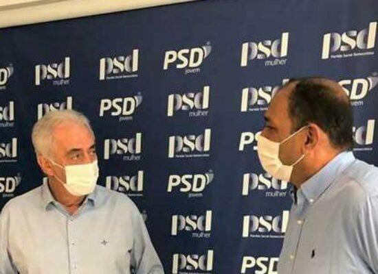 Senador Otto Alencar e prefeito Mário Alexandre discutem melhorias para o desenvolvimento de Ilhéus