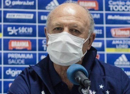 Cruzeiro anuncia saída de Felipão após três meses de trabalho