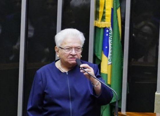 Erundina escancara divisão do PSOL ao citar fisiologismo em apoio a Baleia Rossi