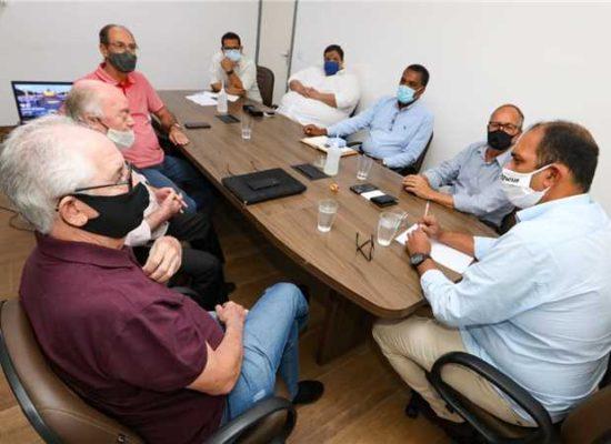 Prefeito de Ilhéus se reuniu com representantes do BID e ZPE Bahia nesta sexta-feira (29)