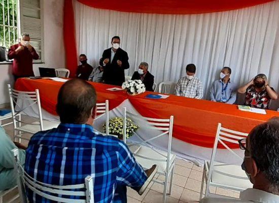 Representantes do CDS-LS participam da eleição do Consórcio Médio Sudoeste