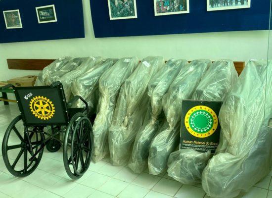 """Rotary Club Jorge Amado implanta projeto """"Banco de Cadeiras de Rodas"""" em Ilhéus e convida sociedade a ajudar"""