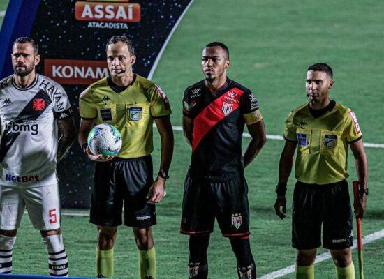 Vasco empata com o Atlético-GO e deixa a zona do rebaixamento