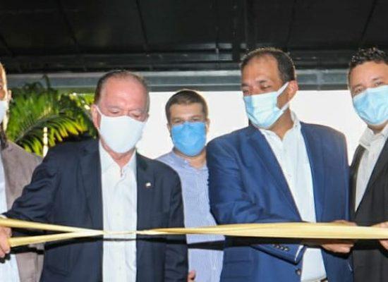 Vereador Kaique Souza, ao lado de autoridades, prestigia inauguração da TV Band – Ilhéus