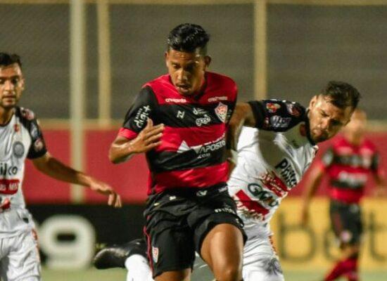 Vitória se aproxima do Z4 após empate com Operário pela Série B
