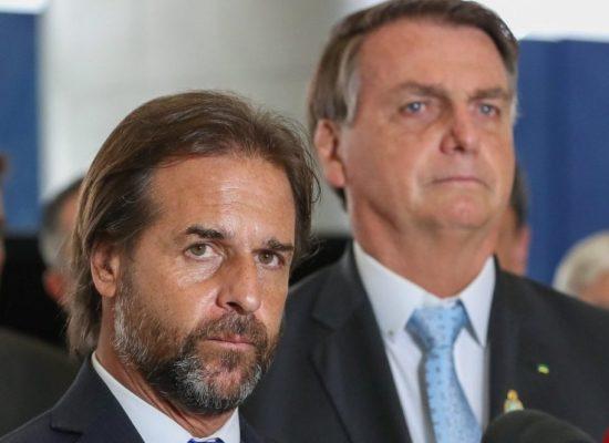 Bolsonaro e presidente uruguaio defendem flexibilização do Mercosul