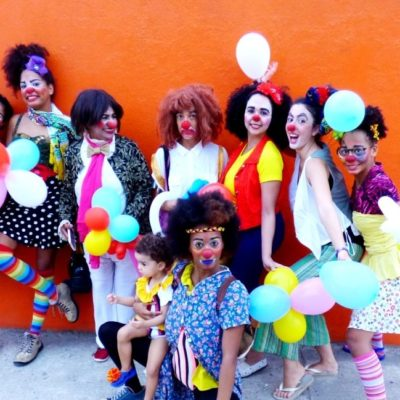 Clowntildes Varieté transportapalhaçaria feminina para internet