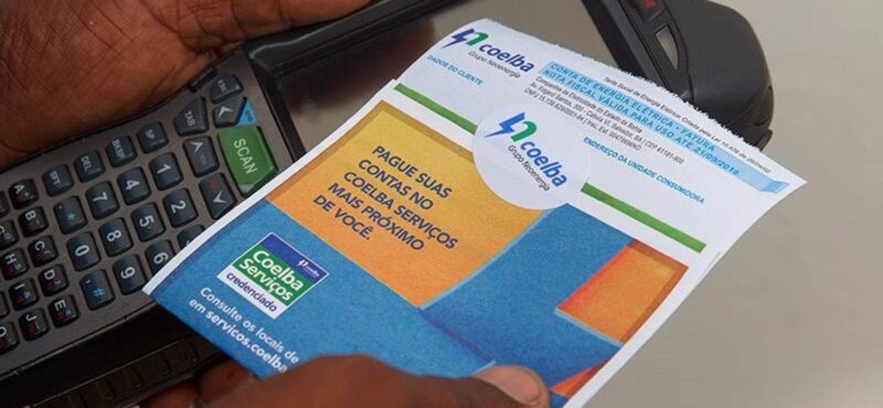 Coelba vai conceder 30% de desconto para clientes com contas em atraso