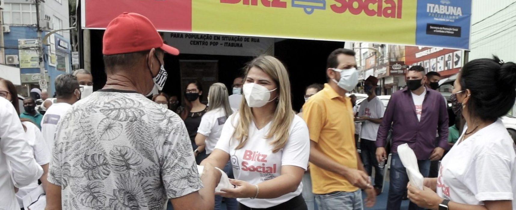 """""""Com a 'Blitz Social', a Secretaria de Promoção Social vai ampliar proteção a população vulnerável de Itabuna"""", diz Andrea Castro"""