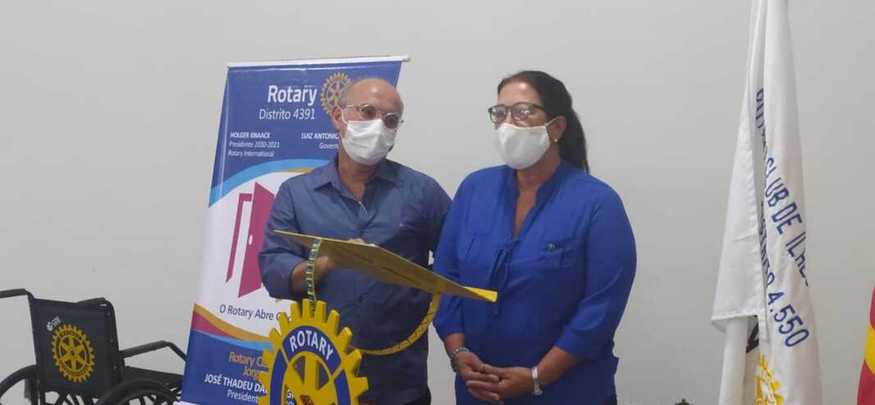 Human Network do Brasil parabeniza Rotary Jorge Amado pelos 15 anos e reforça projeto Banco de Cadeira de Rodas