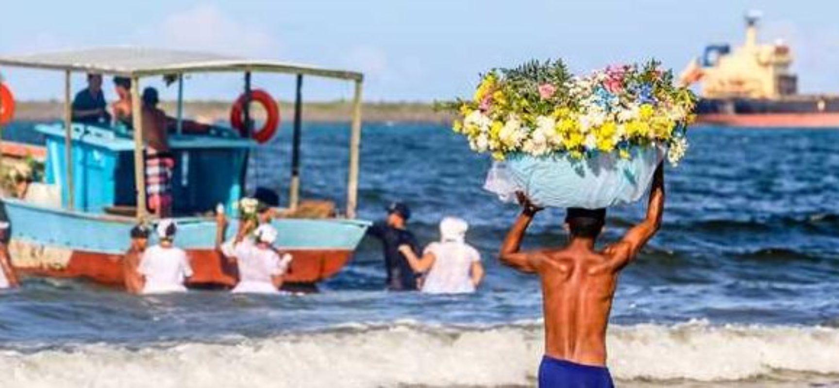 ILHÉUS: Homenagem à Iemanjá é simbólica neste 2 de fevereiro