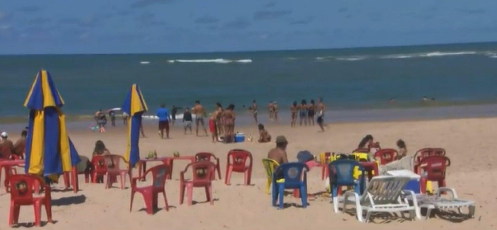 Interdição das praias de Camaçari começa amanhã (21) e segue até 5 de março