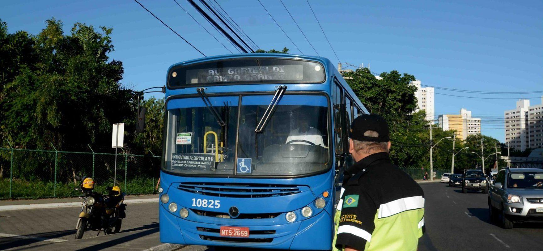 Transporte tem horário alterado em Salvador