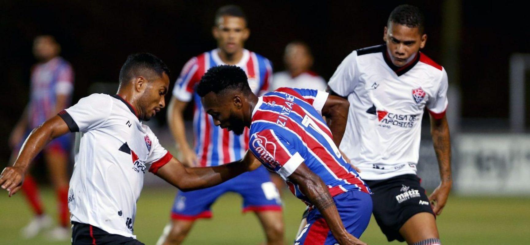 Ba-Vi termina sem gols em Pituaçu