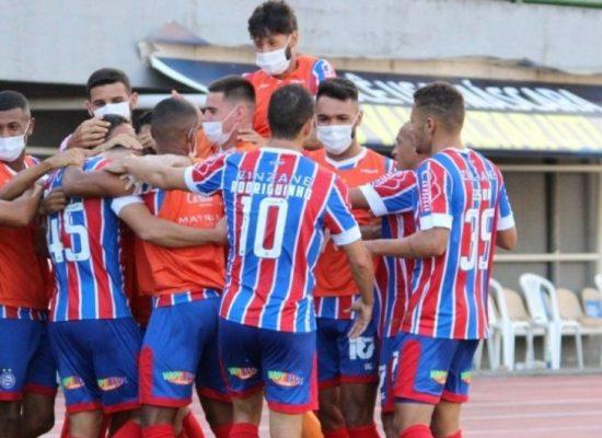 Bahia goleia o Sport por 4 a 0 e assume liderança do Grupo A do Nordestão