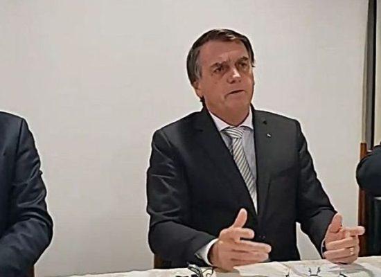 Bolsonaro: AGU entrou com ação contra restrições nos estados