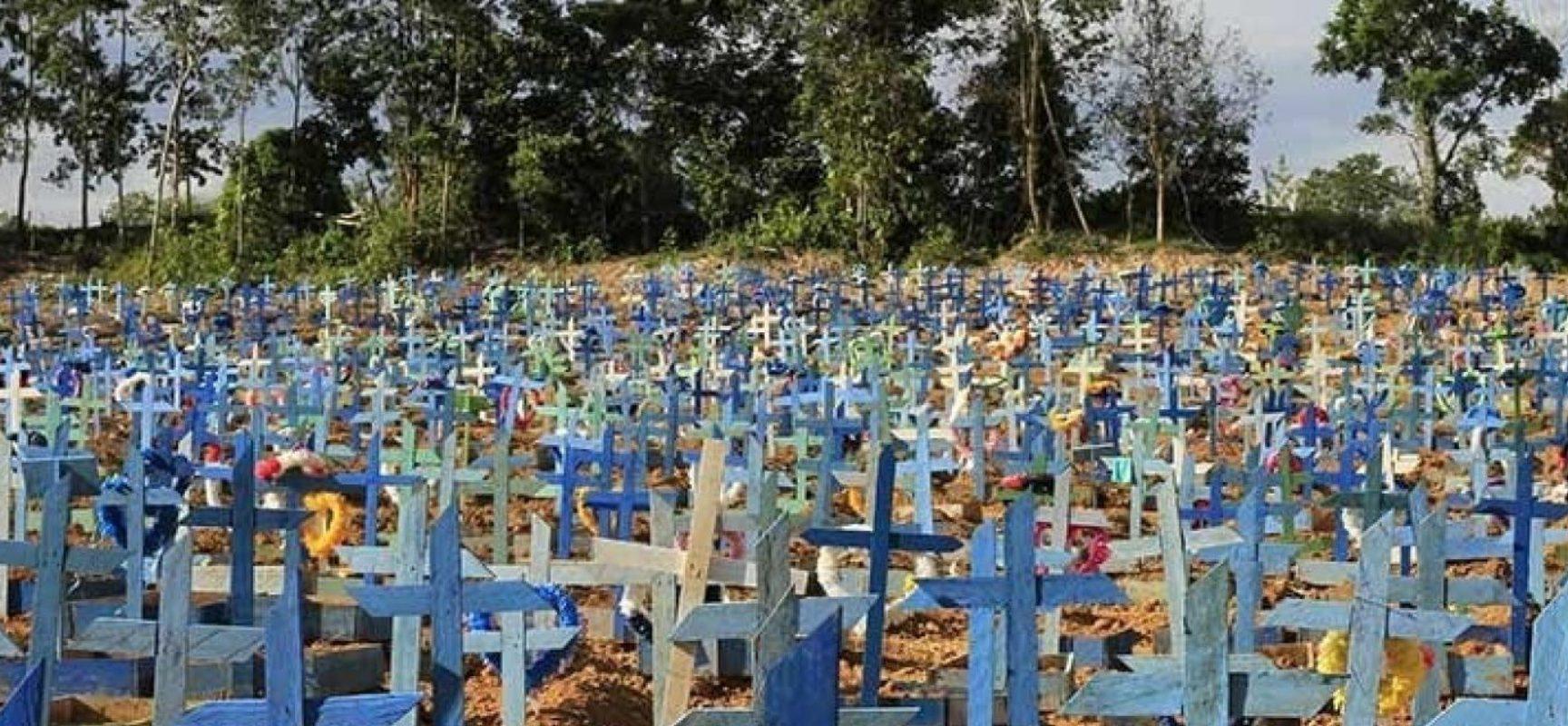 Brasil registra novo recorde de óbitos por Covid-19: 3.251 mortes em 24 horas