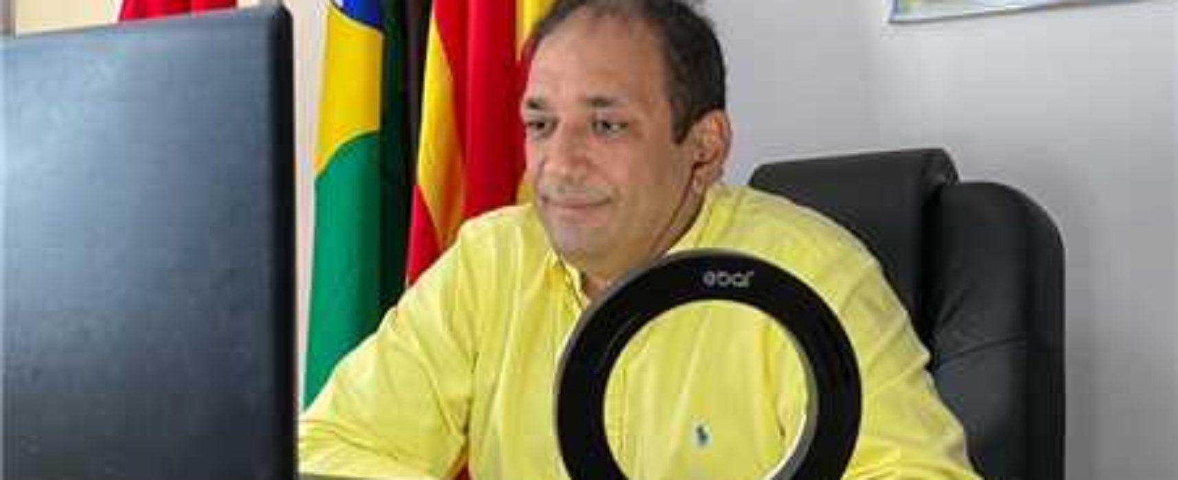 Covid-19: Prefeito Mário Alexandre participa de videoconferência com governador para alinhar ações