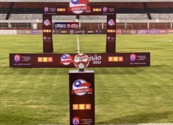 FBF antecipa horário de jogos do Campeonato Baiano por conta do toque de recolher